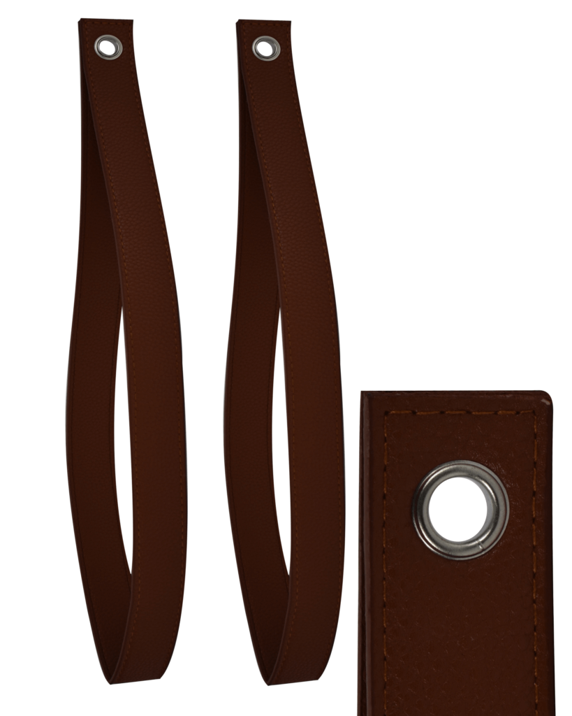 support tag re sangle fa on cuir caramel quincadeco. Black Bedroom Furniture Sets. Home Design Ideas