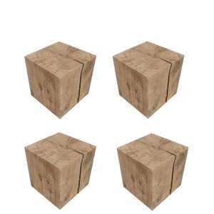 Cubes/Blocs Chêne